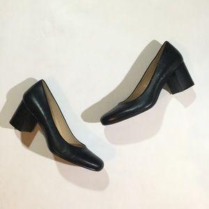 Naturalizer Sz 12 Whitney Round Toe Leather Shoes